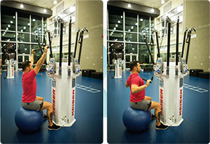 Seated Lat Pull-Down