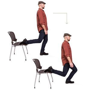Hip flexor lunge