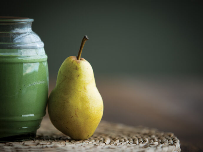 Pear Spinach Smoothie