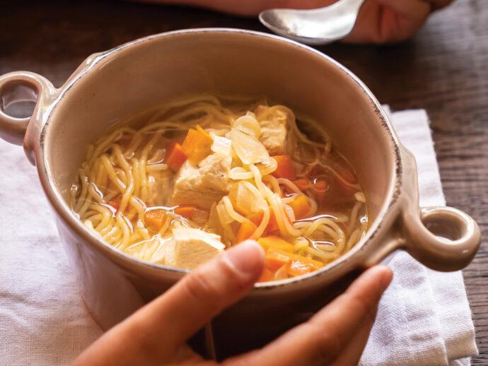 Kid-Friendly Chicken Noodle Soup