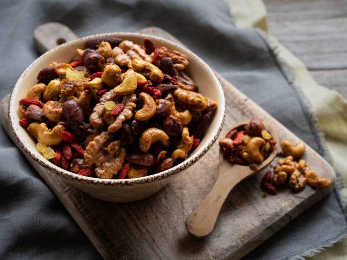 Indian Spiced Trail Mix